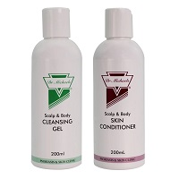 Bộ sản phẩm trị vẩy nến da đầu nhẹ trị gàu Dr Michaels Soratinex (OTC tiêu chuẩn)